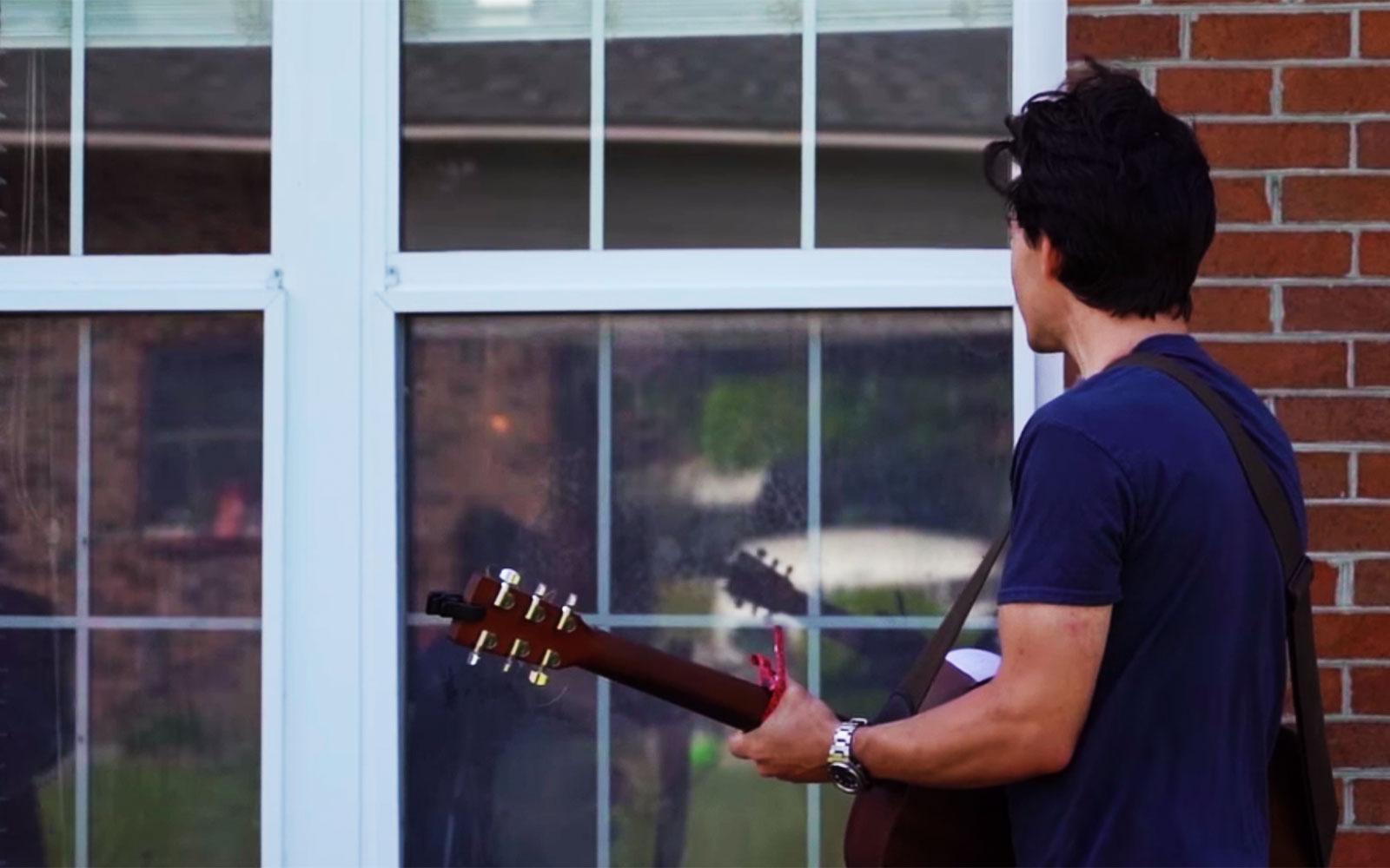 Spreading Joy Through Music – And Windows!